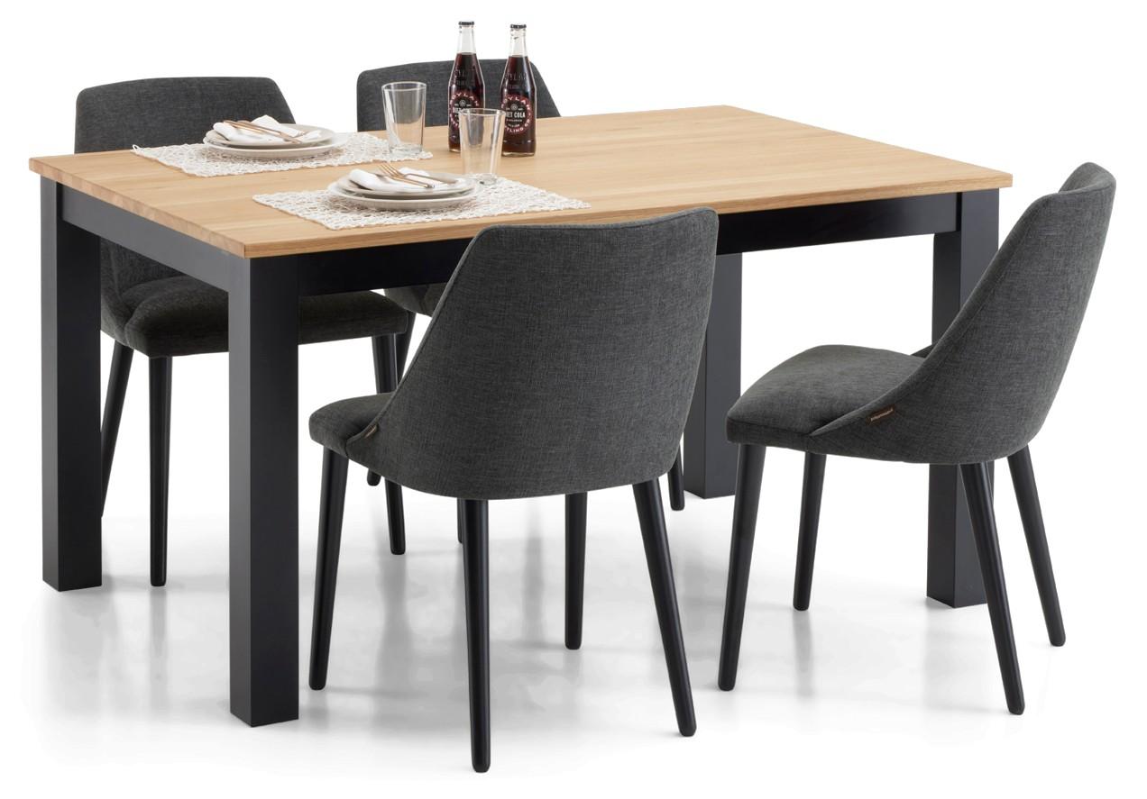 AAVA-ruokapöytä ja 4 RONDO-tuolia