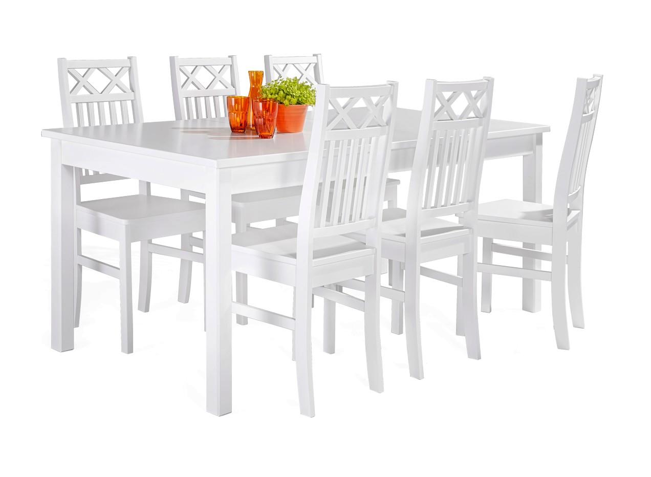 ANNA-jatkettava ruokaryhmä 6 tuolilla