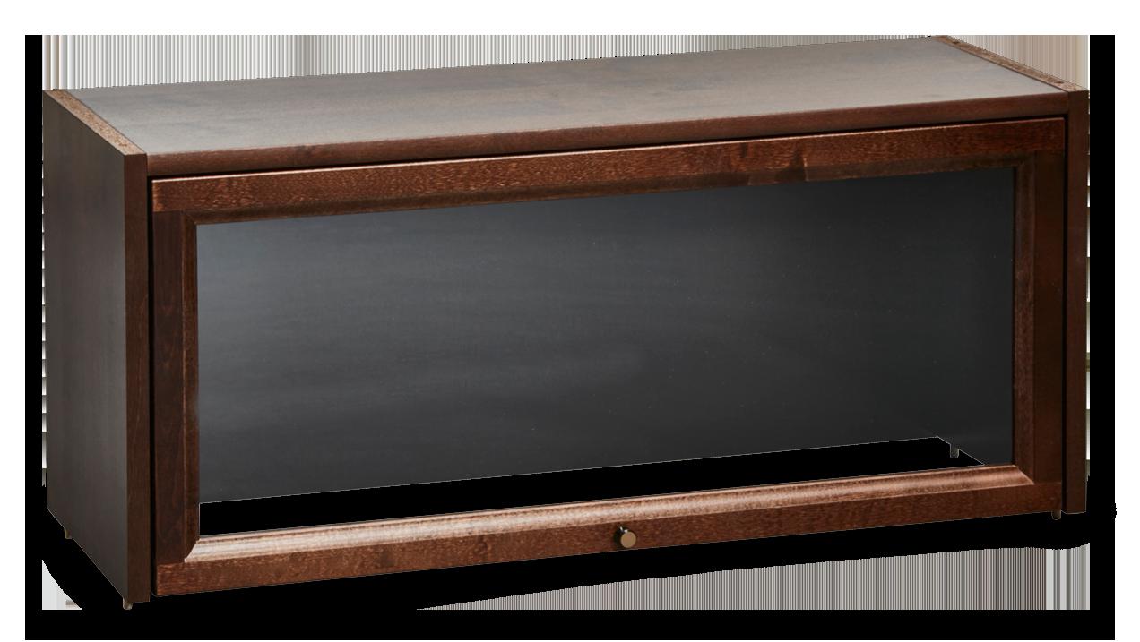 ASPÖ-vitriini 87 cm lasiovella