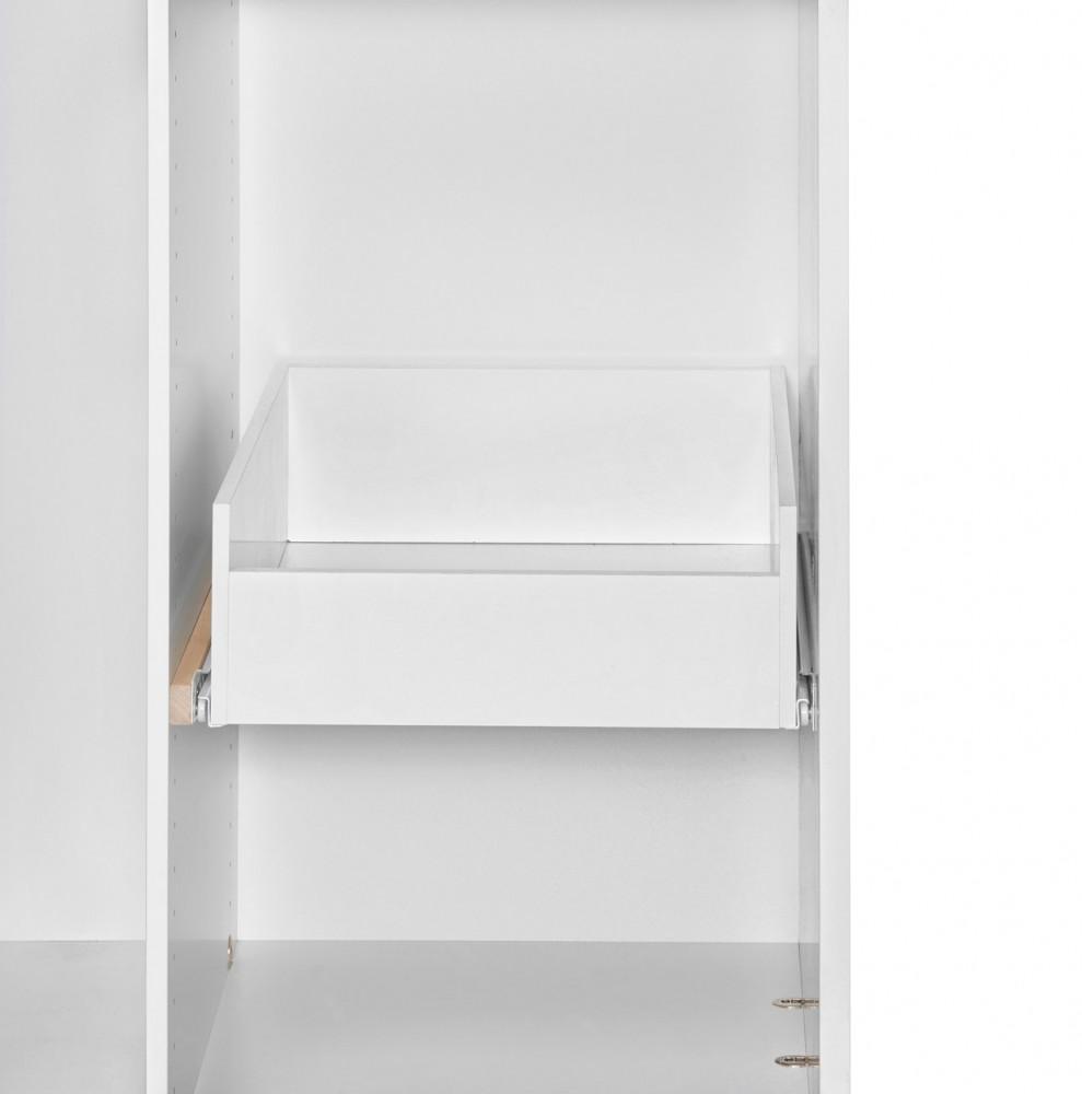 AURA-vetolaatikko, 62 cm syviin komeroihin