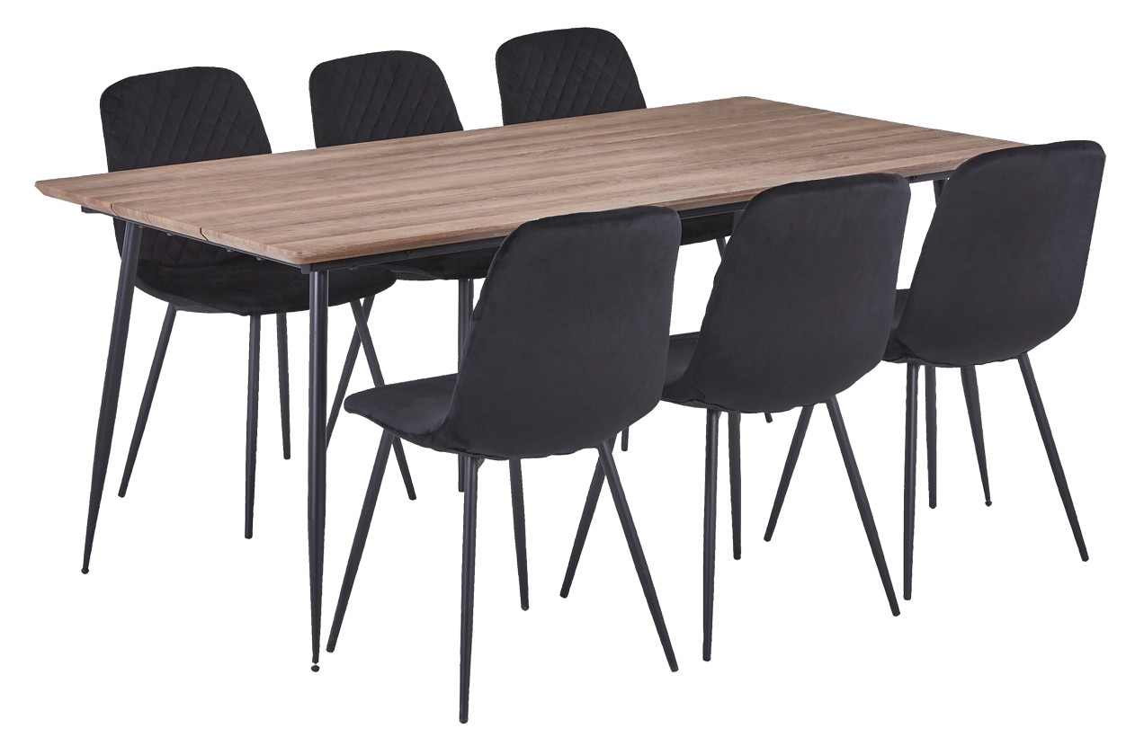 CABO-ruokaryhmä 6 tuolilla