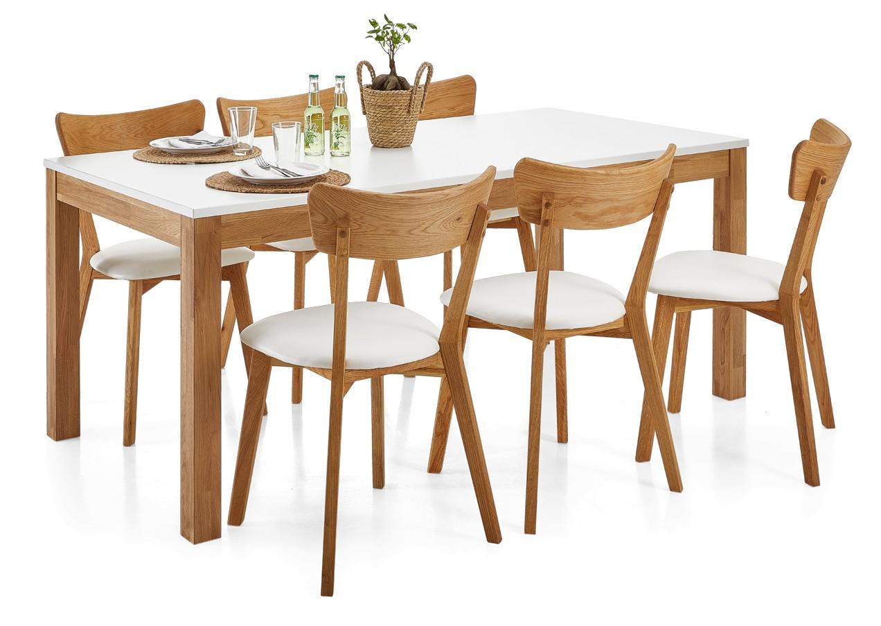 DENNY-ruokaryhmä 6 tuolilla