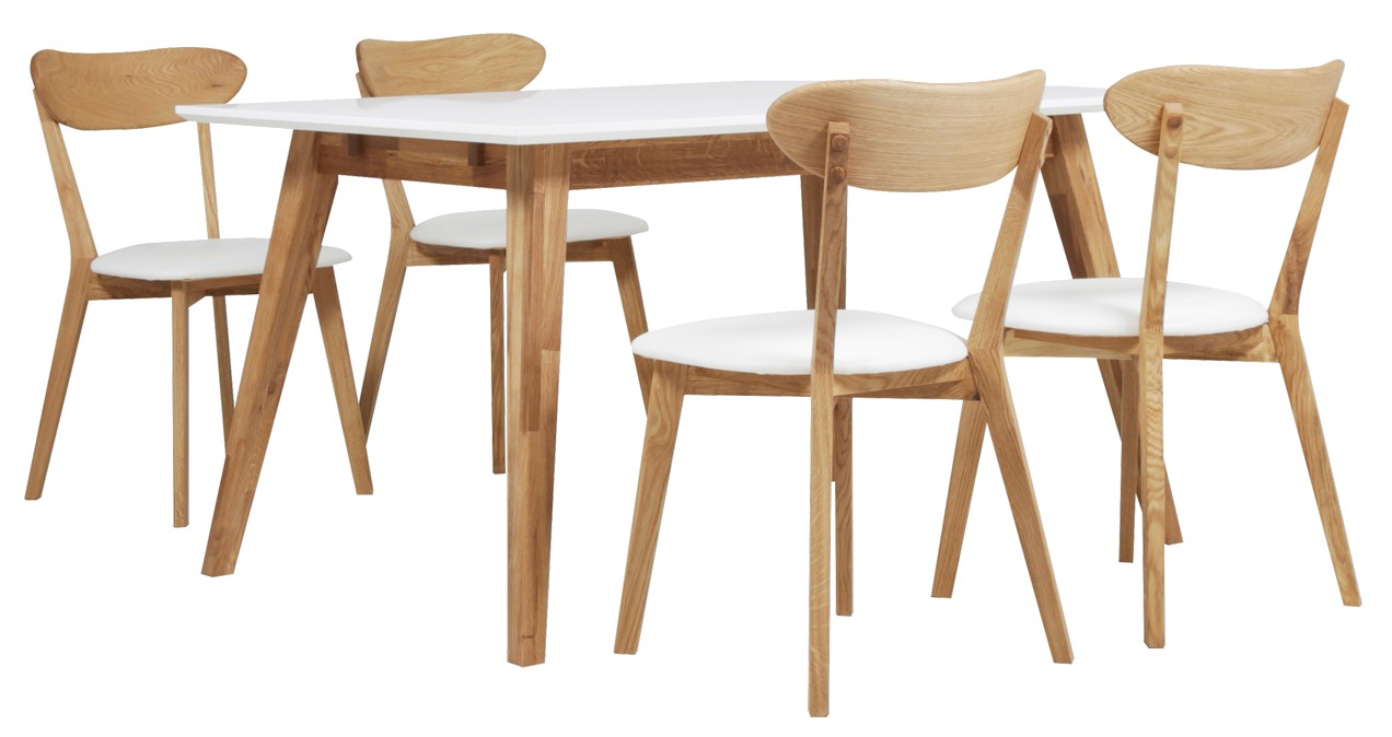HALEY-ruokaryhmä 4 tuolilla