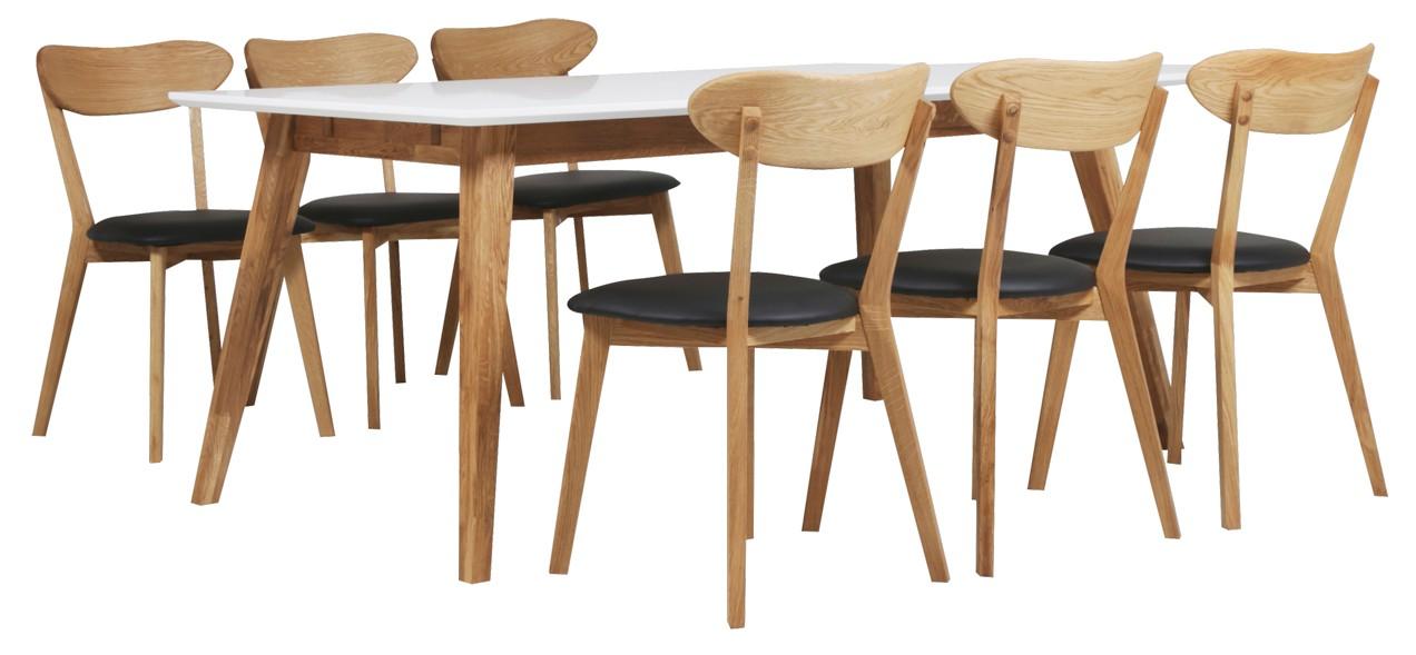 HALEY-ruokaryhmä 6 tuolilla