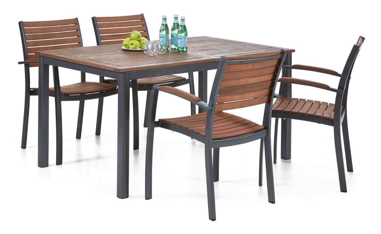 DELTA-pöytä ja 4 tuolia