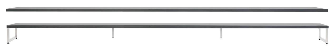 OTSO-kansi ja metallijalat 230 cm