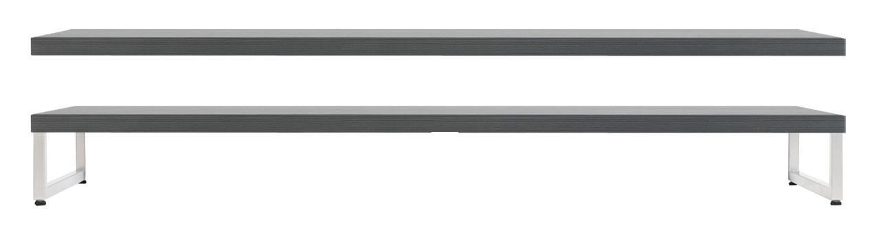 OTSO-kansi ja metallijalat 92 cm