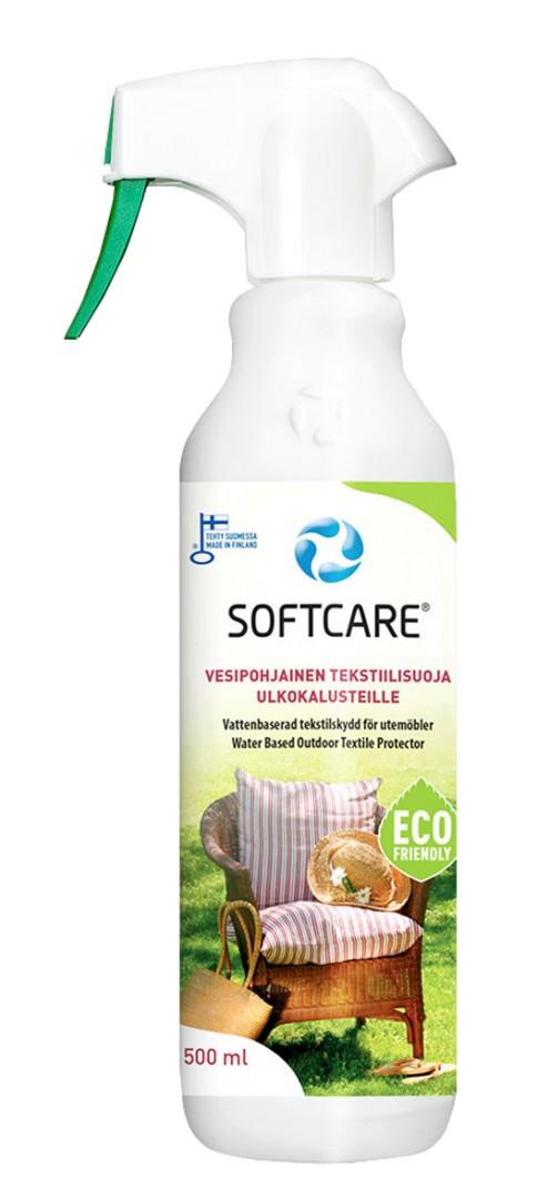 SOFTCARE vesipohjainen tekstiilisuoja 500 ml