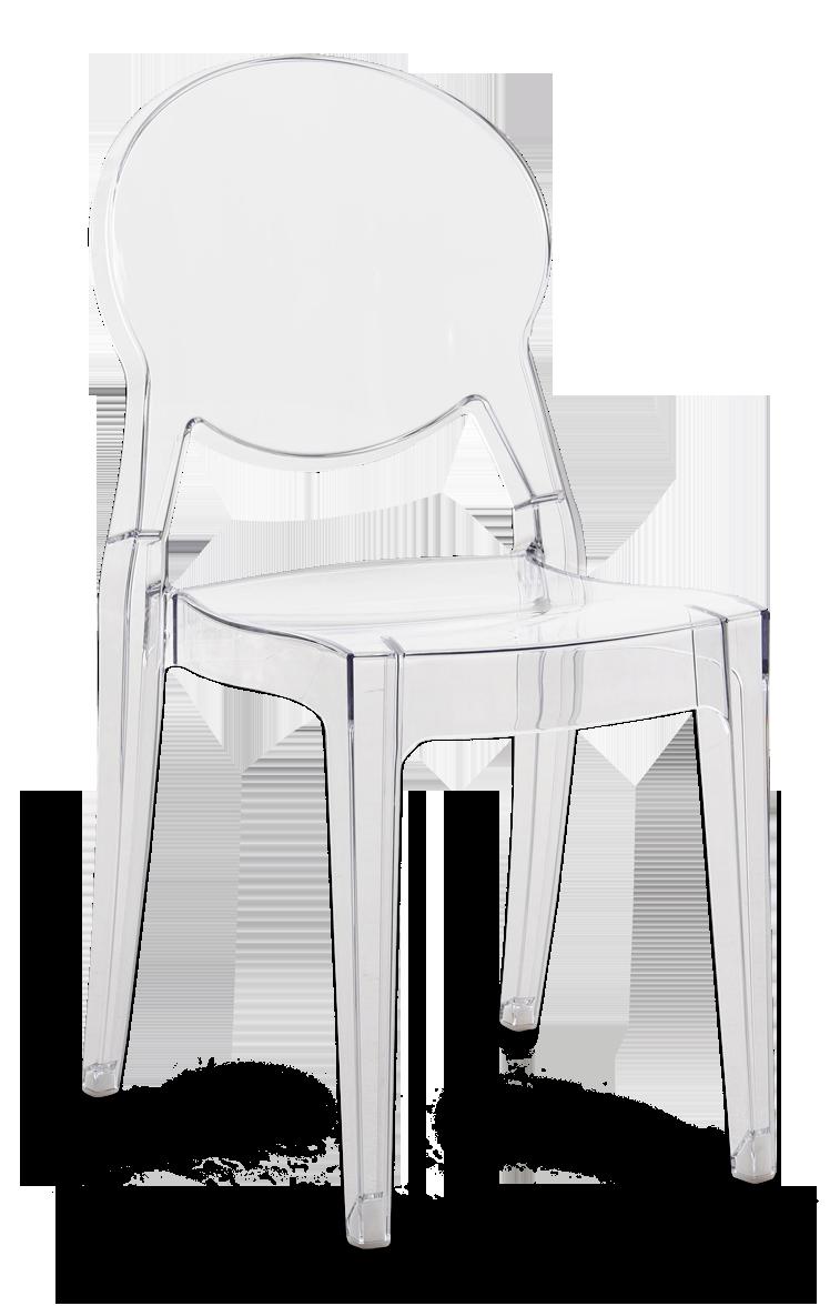 läpikuultava tuoli