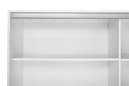 AURA-leveä lisähylly. 62 cm syviin komeroihin