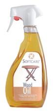 SOFTCARE väritön puuöljy-spray